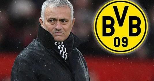Borussia Dortmund đặt HLV Mourinho vào tầm ngắm   Bóng Đá