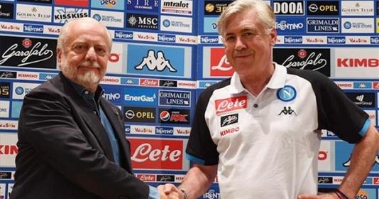 Chê khéo Chủ tịch, Ancelotti đếm ngày rời Napoli | Bóng Đá