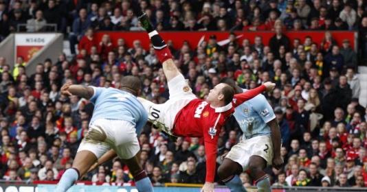 10 hình ảnh ''bùng nổ'' derby Manchester: Tượng đài Rooney   Bóng Đá