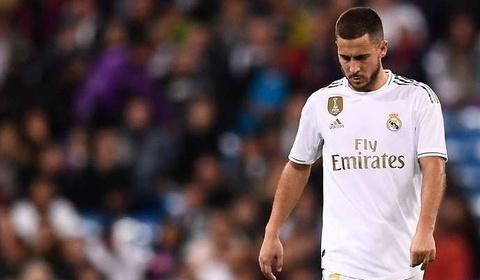 Hình ảnh xót xa của Hazard đến Bernabeu khiến CĐV Real quặn lòng   Bóng Đá