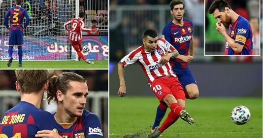 Thảm họa hàng thủ, Barca thua ngược Atletico chỉ trong vòng 5 phút