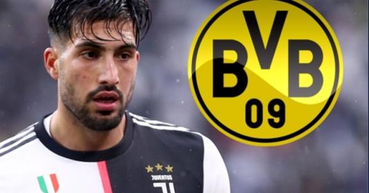 Dortmund nhiều khả năng trở thành bến đỗ tiếp theo của Emre Can   Bóng Đá