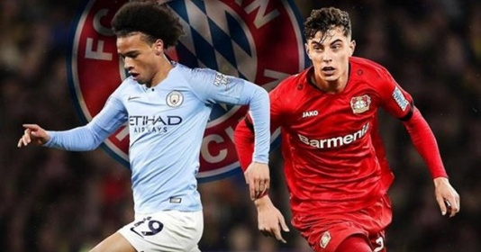 Bayern sẽ chính thức sở hữu Sane và Havertz vào mùa hè? | Bóng Đá