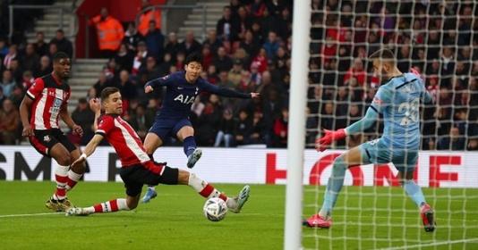 Son Heung-min nổ súng, Tottenham vẫn phải đá lại vòng 4 FA Cup | Bóng Đá