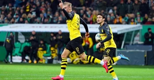 """Dortmund thua trận, NHM vẫn bấn loạn về Haaland: """"Chúa ơi! Cậu ta là cái gì vậy??"""""""
