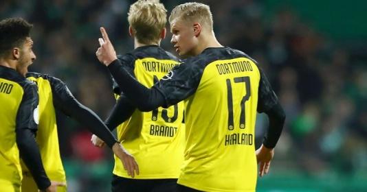 """""""Họng pháo"""" Haaland tiếp tục nổ, thiết lập thành tích siêu khủng ở Dortmund"""
