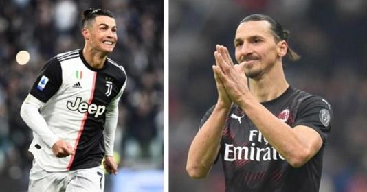 Ibrahimovic - Ronaldo: Kèo này ai thắng?