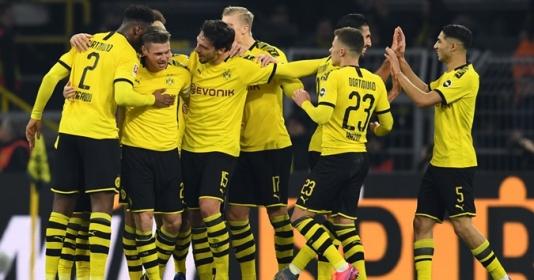 22 bàn/5 vòng, Dortmund hack game siêu hạng tàn sát Bundesliga | Bóng Đá