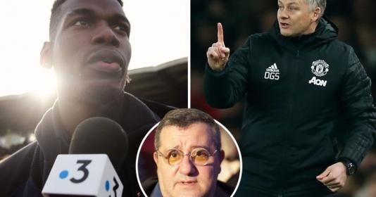 Cuộc chiến Raiola - Pogba - Man Utd đã đi quá xa! | Bóng Đá