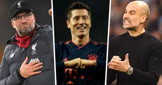 Lewandowski tiết lộ cách phát triển sự nghiệp cùng với Pep và Klopp | Bóng Đá