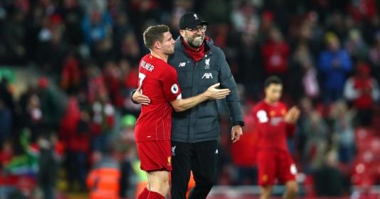 """James Milner tiết lộ """"phương thuốc"""" của Jurgen Klopp giúp Liverpool chiến thắng"""