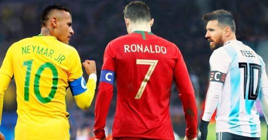 Huyền thoại 'lá vàng rơi' chỉ ra lý do Neymar thua kém Messi, Ronaldo | Bóng Đá