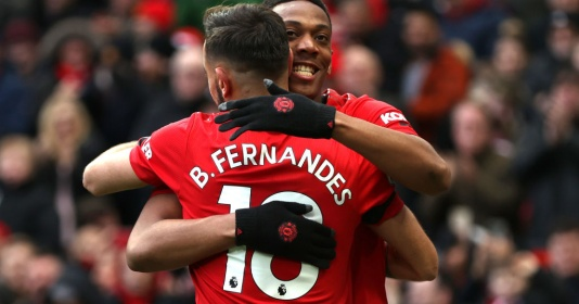 Những cái nhất của Man Utd từ đầu mùa: Fred, Fernandes và... Man City | Bóng Đá