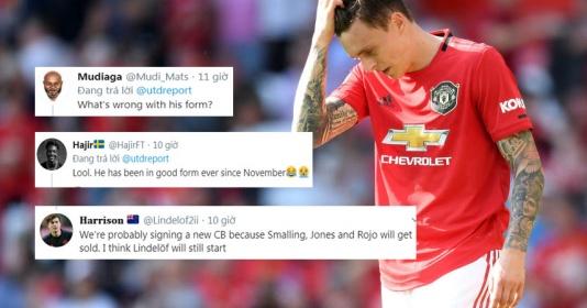 """CĐV Man Utd: """"Cậu ta đá tốt hơn rồi, hãy bán Smalling, Jones và Rojo đi"""""""
