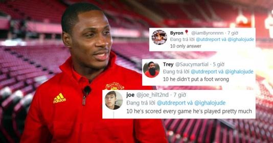 """CĐV Man Utd: """"Cậu ấy xứng đáng 10/10 điểm, quá xuất sắc"""""""