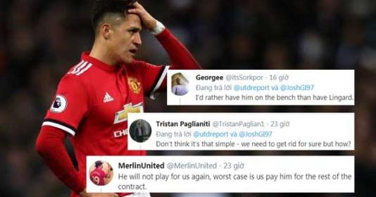 """CĐV Man Utd: """"Hãy bán cậu ấy đi, đó là hợp đồng thất bại nhất trong lịch sử"""""""