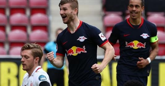 """Bị Werner """"át vía"""", Mainz hài hước cậy nhờ Jurgen Klopp"""