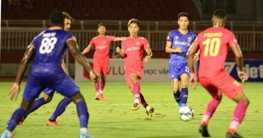 """""""Chelsea Việt Nam"""" đổ bê tông, giành 1 điểm trước Sài Gòn FC"""