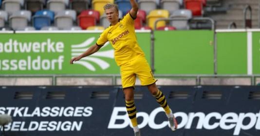 """Dortmund thắng trận, NHM ca ngợi Haaland: """"Một chữ ký chất lượng, người hùng của đội bóng"""""""