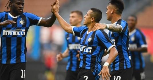 """Sanchez chấm dứt chuỗi 16 trận """"tịt ngòi"""", Inter vùi dập đối thủ bằng 1 set tennis"""