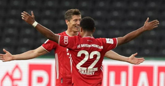Lập cú đúp, Lewandowski vượt mốc 50 bàn thắng cho Bayern | Bóng Đá