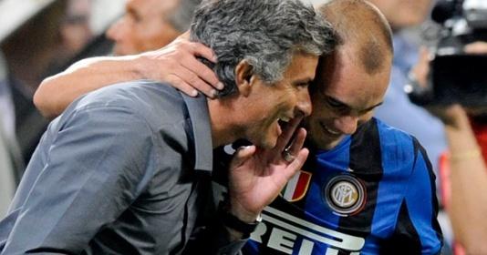 Sneijder tiết lộ cách quản lý cầu thủ của Mourinho, giúp Inter ăn ba | Bóng Đá