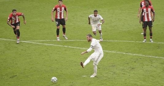 VAR lại hóa cứu tinh, Real Madrid tiến gần hơn đến ngôi vương La Liga   Bóng Đá