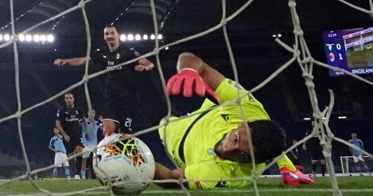 Zlatan ghi bàn, Milan hỗ trợ Juventus trên đường đua vô địch | Bóng Đá