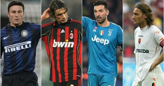 10 cầu thủ ra sân nhiều nhất ở Serie A: Chỉ duy nhất 1 cầu thủ ngoại | Bóng Đá