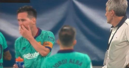 Cho Setien ra rìa, Messi trực tiếp chỉ đạo chiến thuật  | Bóng Đá