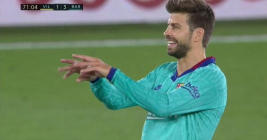 """Pique """"cà khịa"""" công nghệ VAR, ám chỉ trọng tài La Liga đang bị điều khiển"""