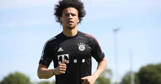 Buổi tập đầu tiên của Sane tại Bayern Munich