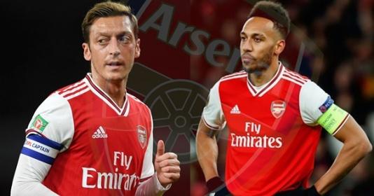 Arsenal đồng ý tăng lương cho Aubameyang, nhưng vẫn kém xa Mesut Ozil | Bóng Đá