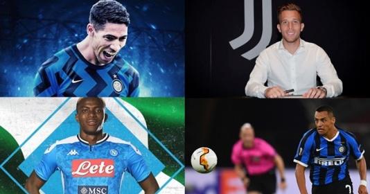 """8 thương vụ chuyển nhượng đáng chú ý đã hoàn tất ở Serie A: """"Bom tấn"""" Melo, Sanchez góp mặt"""