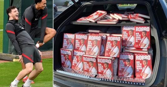 Arnold chi đậm tiền để mua sách của Robertson | Bóng Đá