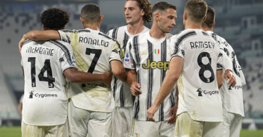 Ronaldo khai hỏa, Juventus có trận thắng đậm trong ngày HLV Pirlo ra mắt