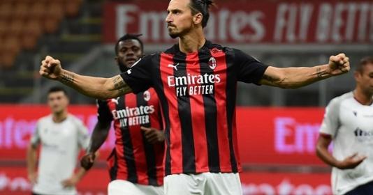 Ibrahimovic lập siêu kỷ lục sau trận thắng Bologna