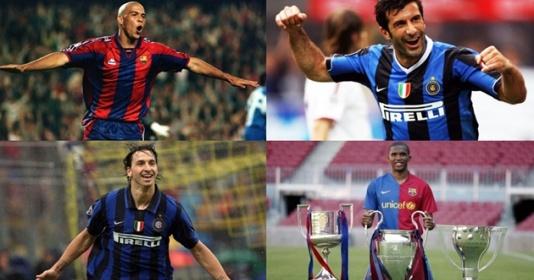 14 cầu thủ từng khoác áo Barca và Inter (Phần 1) | Bóng Đá