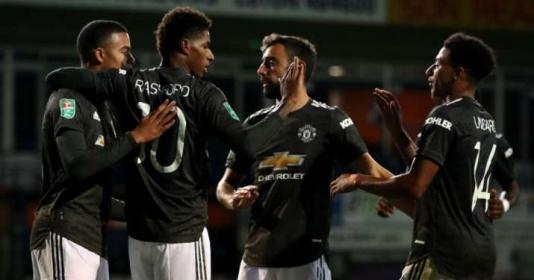 Man Utd đụng độ cạ cứng tại vòng 4 Cúp Liên đoàn Anh...
