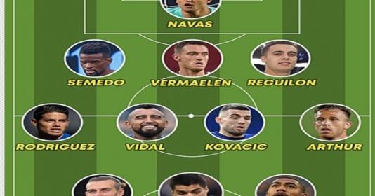 Từ Arthur đến Bale: Siêu đội hình 269 triệu bị Real - Barca ruồng bỏ   Bóng Đá