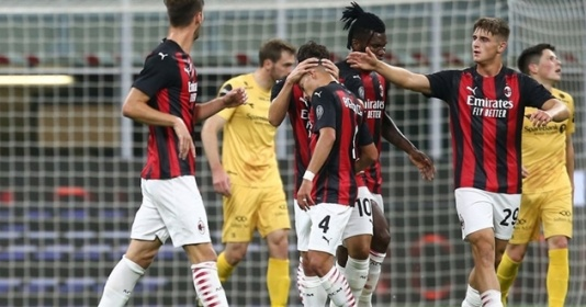 Mặc kệ COVID-19, AC Milan hiên ngang tiến bước tại Europa League   Bóng Đá