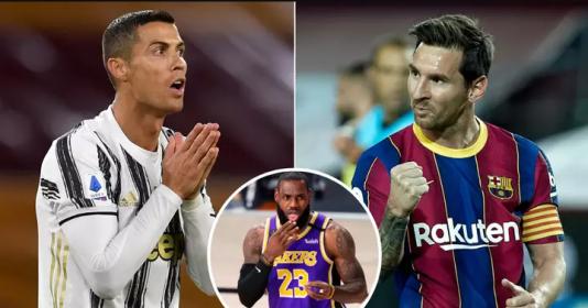 Messi bất ngờ vượt Ronaldo về giá trị thương mại | Bóng Đá