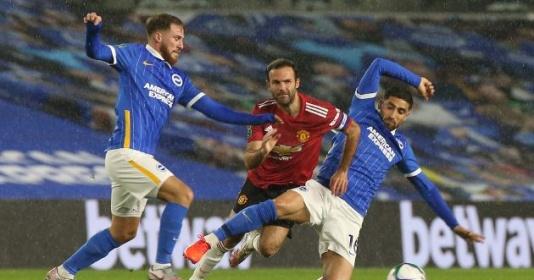 5 điểm nhấn trận Brighton 0-3 Man Utd: Cặp bài trùng lạ lẫm | Bóng Đá