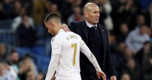 Zidane nói 1 điều, CĐV Real thất thần vì Eden Hazard