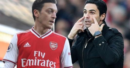Thật đáng buồn, Arteta đang lãng phí tài năng của Ozil | Bóng Đá