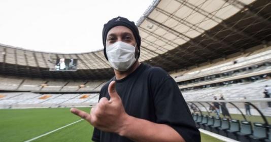 Ronaldinho dính virus Corona | Bóng Đá