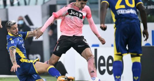 Vắng Ronaldo, Juventus chết hụt trước Hellas Verona trên sân nhà | Bóng Đá