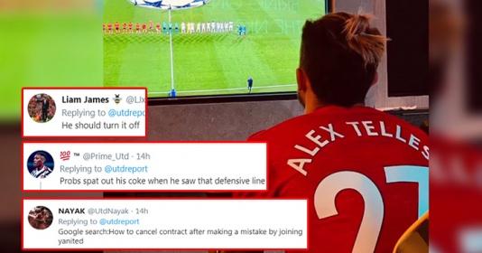 CĐV Man Utd: Nhìn hàng thủ Quỷ Đỏ, có lẽ Telles phun cả ly coca vào TV | Bóng Đá