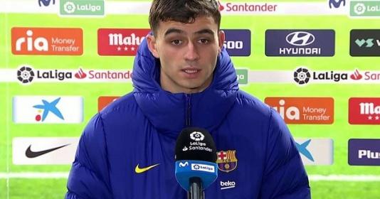 Messi, Barca bị chỉ trích vì cho Pedri ra trả lời phỏng vấn sau trận | Bóng Đá