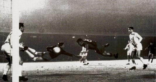 60 năm trước, Barca có trận thắng đầu tiên trước Real ở C1   Bóng Đá